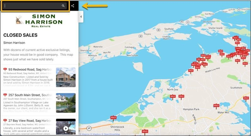 Map-search-bar