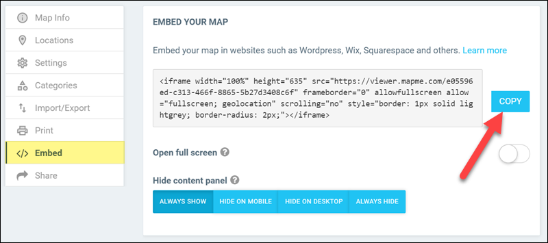 map-embed-code