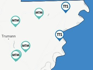 Resource map to locate service providers